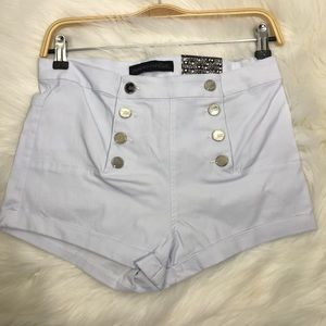 Almost Famous White High Waisted W 29""